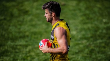 Trent Cotchin will lead the Tigers into the finals feeling liberated.