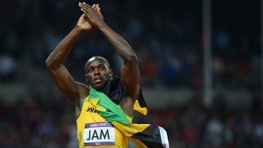 Lightning strike … it was always Usain Bolt's show.