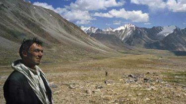 Malang Daria in the Wakham Corridor of Afghanistan.