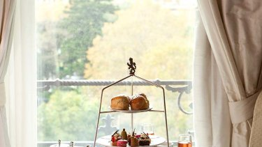 High tea at The Windsor Hotel, Melbourne.