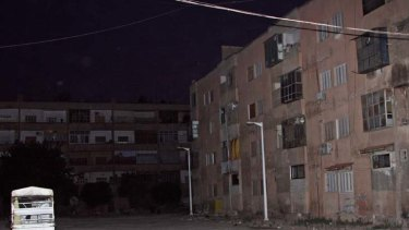Powerless ...according to a human rights group, eight babies died when the electricity was cut in Hama .