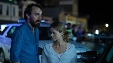 Ewen Leslie and Jenna Coleman in The Cry.