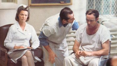 Jack Nicholson tries to buck the system in <i>One Flew Over The Cuckoo's Nest</i>.
