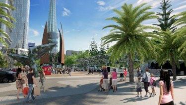 The latest images of the Elizabeth Quay development.