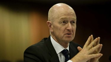 Much like Margaret Thatcher, RBA Gov. Glenn Stevens knows how to face down a crowd.