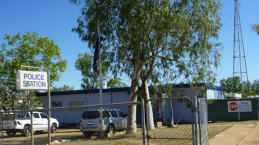 The attack happened in the Kimberley town of Fitzroy Crossing.