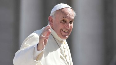 """Challenging the church: putting the emphasis on being more accepting of people, Pope Francis says """"this church with which we should be thinking is the home of all""""."""