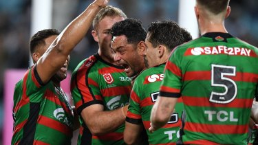 The South Sydney Rabbitohs take on the Manly Sea Eagles in week two of the Finals.