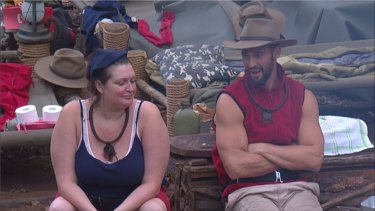 Kris Smith hasn't been afraid to discuss his love life with fellow contestants.