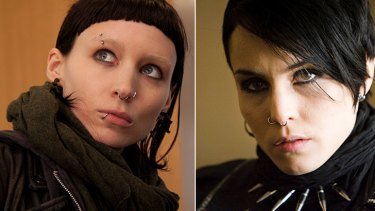 Rooney Mara (left) and Noomi Rapace have both portrayed Lisbeth Salander in the film adaptions of <i>The Girl with the Dragon Tattoo</i>.