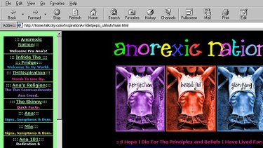 The secret world of anorexics