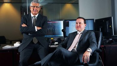 Standing down: Shane Finemore and Russell Aboud have resigned from the ASX board.