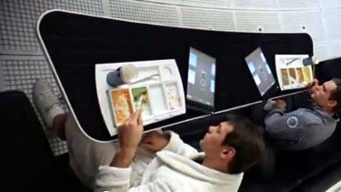 The iPad-like devices in 2001: A Space Odyssey.