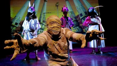 I want my mummy: <i>Horrible Histories: Awful Egyptians</I>