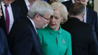Governor-General Quentin Bryce should not expect a visit from Prime Minister Kevin Rudd to call an election for August 24, say Labor sources.