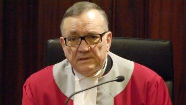 Justice Bernard Bongiorno.