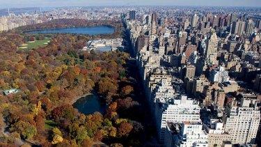 Prestigious address ... Fifth Avenue flanks Central Park.