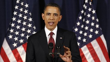 President Obama explains why he took action over Libya.