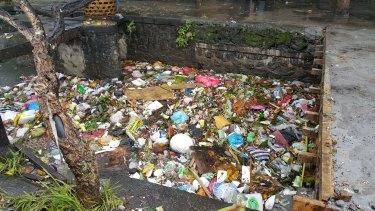 Rubbish in Kepaon, Denpasar.