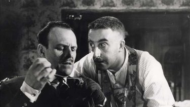 All right Jack ... Terry Thomas and Peter Sellers in the iconic union comedy, I'm All Right, Jack.