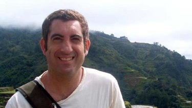 Joel Katz seen here in an earlier trip to The Philippines. He's now at an outreach blogger post in a Bangladeshi slum.
