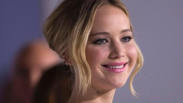 Bringing in the box office big bucks: Jennifer Lawrence.