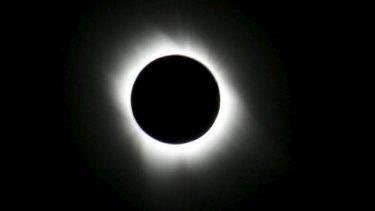 Total solar eclipse.