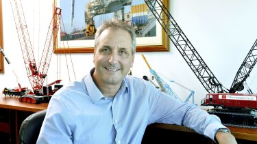 Monadelphous managing director Robert Velletri is pursuing some $200m of claims against WICET.