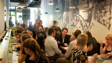 The figures show Australians are eating out more than shopping.