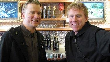Matt Irwin and Trent Allen, of sip&listen.