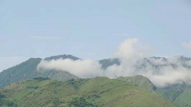Serene ... the hills of Abbottabad.