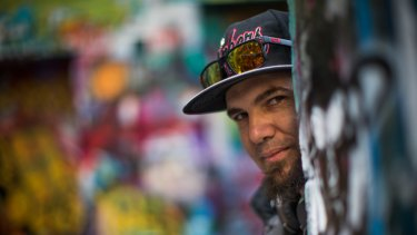 Pjay Streeton, 37, has been living homeless on and off for 20 years.
