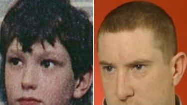 David Calvert, right, who has been mistaken for James Bulger's killer Jon Venables, left, says he lives in constant fear someone will kill him.