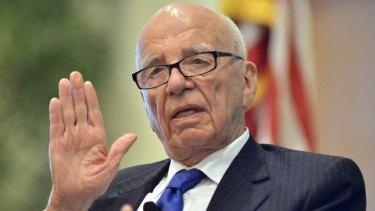 News Corp chief Rupert Murdoch.