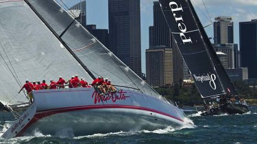 Duel: Perpetual Loyal and Wild Oats in Sydney.