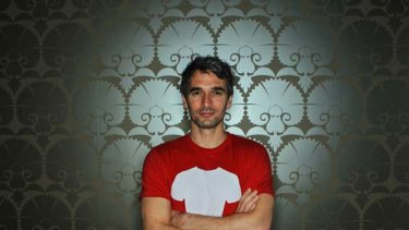 Todd Sampson of the ABC show The Gruen Transfer.