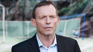 Leader of the Opposition, Tony Abbott.