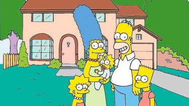 Bright idea: Matt Groening made the characters yellow so they would be instantly recognisable to channel hoppers.