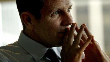 Mike Baird: ''I'm not going to hide who I am.''