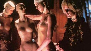 Daryl Hannah in a scene from <i>Blade Runner</i>.