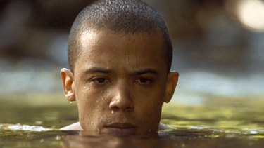 Grey Worm gets his perve on in <i>Game of Thrones</i> S4 E8.