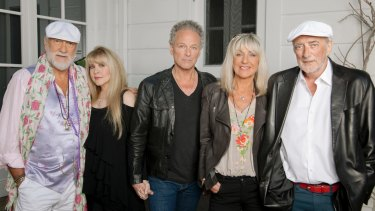 Fleetwood Mac were back in Perth to play their first show since 2009.