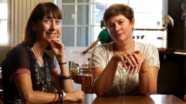 Writing wrongs: Stella prize founders Aviva Tuffield, left, and Sophie Cunningham.