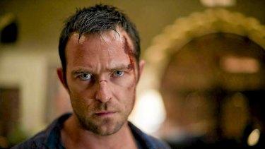 Sullivan Stapleton, in a scene from the HBO action series <i>Strike Back</i>.