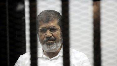 Jailed: Egypt's ousted president Mohammed Mursi sentenced to 20 years.