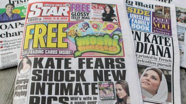 The Irish Daily Star printed the topless pictures of the Duchess of Cambridge.