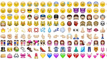 Emojis were used in about 2.3 trillion mobile messages last year.