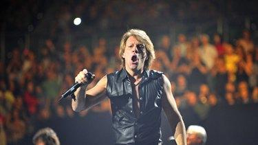 Bon Jovi at Rod Laver Arena.