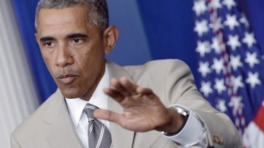 President Barack Obama holds a news conference and delivers a too-candid admission on strategy.