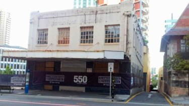 The old Paramount Pictures building on Ann Street has been bulldozed.